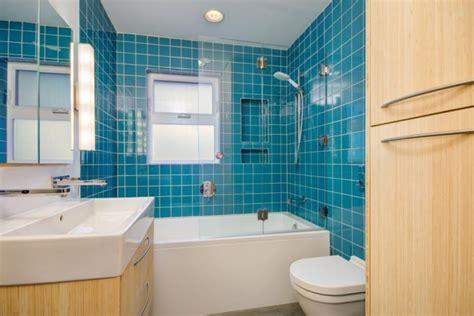 Modern Bathroom Ideas Blue by 21 Blue Tile Bathroom Designs Decorating Ideas Design