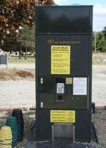 fully automated ball machine golf world driving range