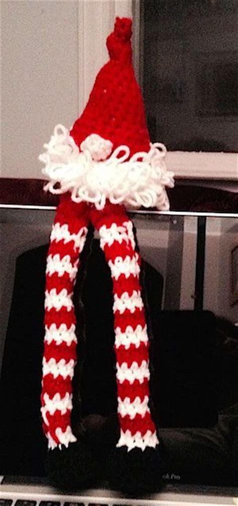 christmas gnome  pattern knit  crochet