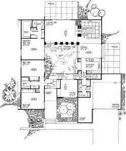 Surprisingly Atrium Home Plans by 3 Bed 2 5 Bath Contemporary Around A Central Courtyard