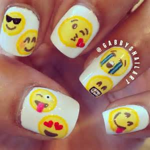 Best emoji nails ideas only on for kids easy and nail art