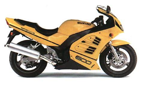 1996 Suzuki Rf600r by Suzuki Models 1996 Page 1