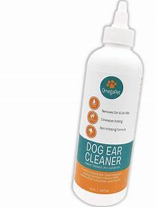 omegapet dog ear cleaner the fastest safest ear drops With dog ear cleaning solution