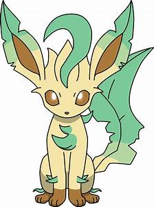 Leafeon Sitting PNG by ProteusIII on DeviantArt