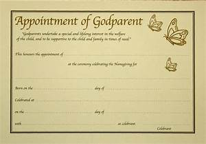 godparent certificate template 28 images godparent With godparent certificate template