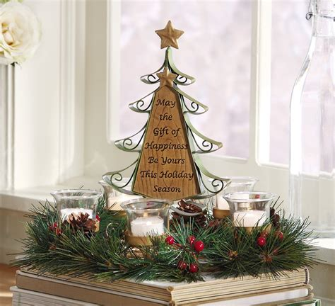 christmas tree centerpiece christmas centerpieces