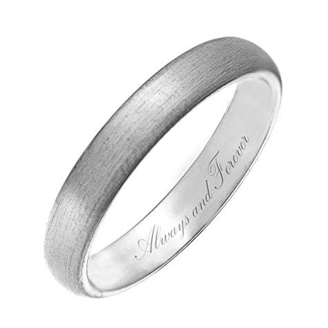 theia titanium engraved wedding ring