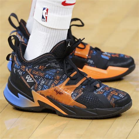What Pros Wear Russell Westbrooks Jordan Why Not Zer03