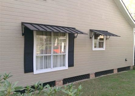 metal window awnings houses   pinterest metal awning window awnings  metals