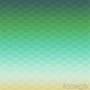Illusion honeycomb background gradient vector – Over ...