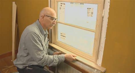 video series   install interior extension jambs  window trim fine homebuilding