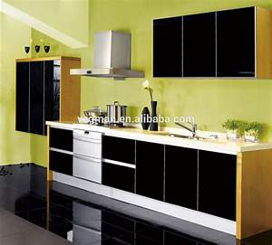Modular kitchen cabinet color combinations high gloss for Kitchen cabinet trends 2018 combined with baby wall art for nursery