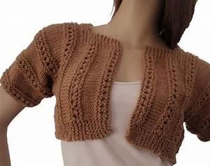 Modele De Tricotin Facile : modele tricot shrug gratuit ~ Melissatoandfro.com Idées de Décoration