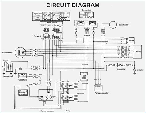 yamaha golf cart wiring diagram gas bestharleylinks info