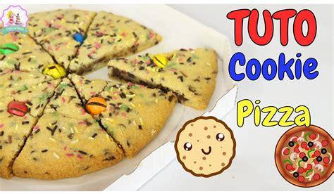 tuto cuisine facile recette pizza cookie facile et rapide