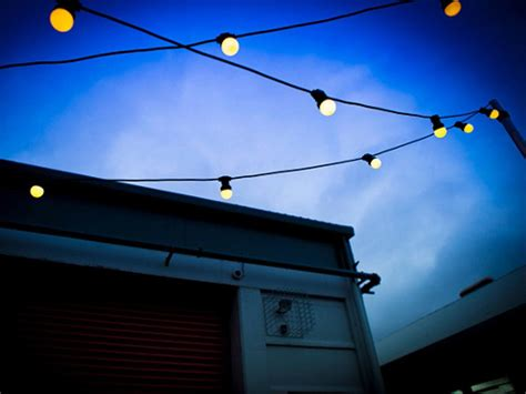 festoon lights warm white led outdoor