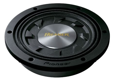 """Tssw1041d  Premier® 10"""" Shallowmount Subwoofer With 1000 Watts Max Power Pioneer"""