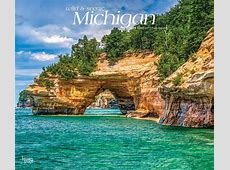 Michigan, Wild & Scenic 2019 12 x 14 Inch Monthly Deluxe