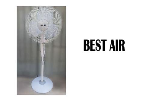 best air fans best air stand plastic fan 16 homemark