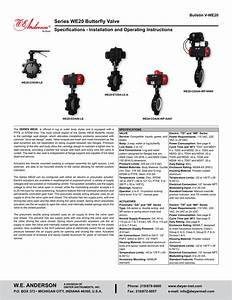 Series We20 Butterfly Valve Specifications