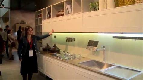 eurocucina  kitchen design trends  linear kitchen design youtube