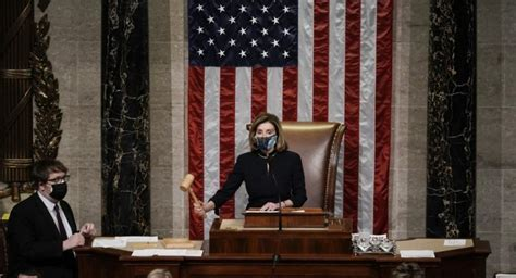 Trump impeached after Capitol riot in historic second ...