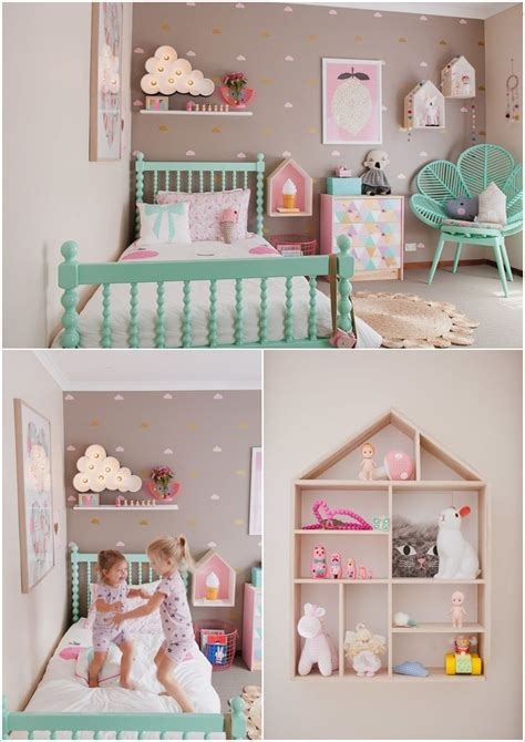 Cute Ideas To Decorate A Toddler Girl's Room  Kids Room