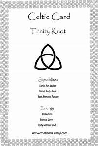 Triquetra or Trinity Knot | Emoti-Emoji