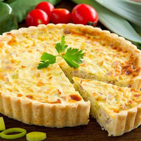 cuisiner des poireaux recette tarte à l 39 oignon et au jambon