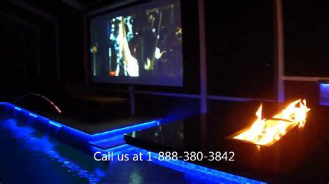 led outdoor kitchen and pool lighting ta florida