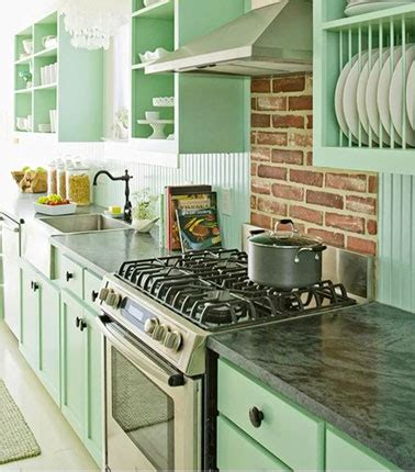 eau de cuisine couleur cuisine en total look vert d 39 eau