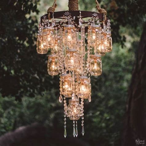 creative  easy diy outdoor lighting ideas  navage