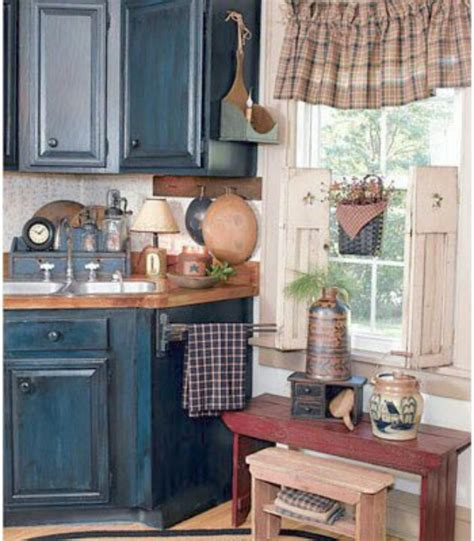 Primitive Decor Kitchen Cabinets by Primitive Crafts Prim Crafts