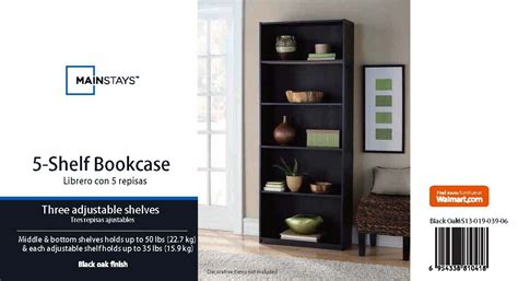 mainstays 5 shelf bookcase mainstays 5 shelf bookcase for pictures