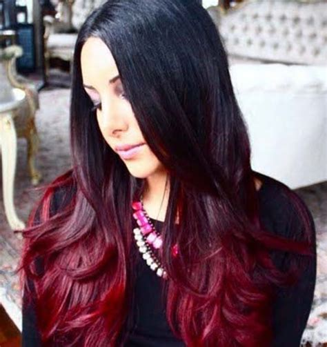 Black And Brown Hair Color Ideas by 20 Stunning Ombre Hair Color Ideas For Brown