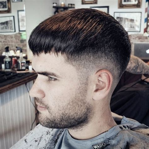 modern mushroom haircuts  latest  trend