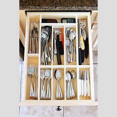 Diy Kitchen Utensil Drawer Organizer  Easy!!  Kevin