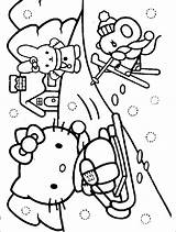 Coloring Winter Pages11 Preschool Pages Kindergarten Crafts Toddler Worksheets sketch template