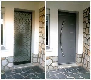 Porte Entrée Aluminium Rénovation : menuiserie rge toulouse les portes neuf standard sur ~ Premium-room.com Idées de Décoration