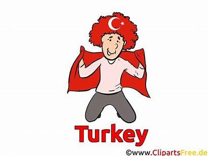 Clipart Turkiet Turkey Utklipp Turquie Tyrkia Fussball