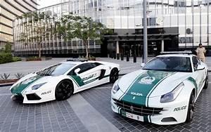 First a Lamborghini - now Dubai unveils police Ferrari ...
