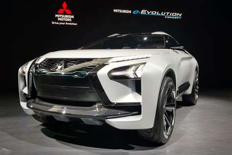 New Mitsubishi Evolution by Mitsubishi E Evolution Concept Revealed In Evo