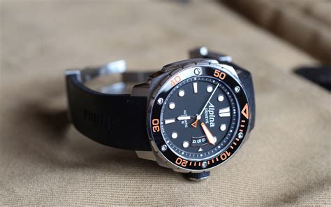 An Extreme Dive Watch—alpina Extreme Diver 300