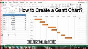 Project Gantt Chart Template How To Create A Gantt Chart