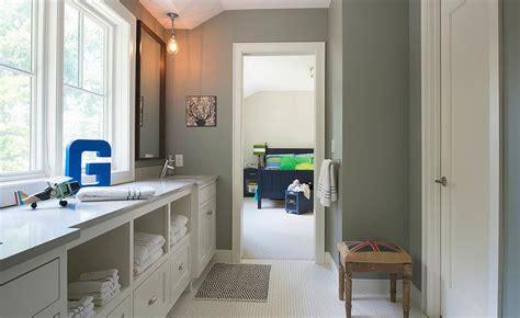 jack  jill bathroom design transitional bathroom