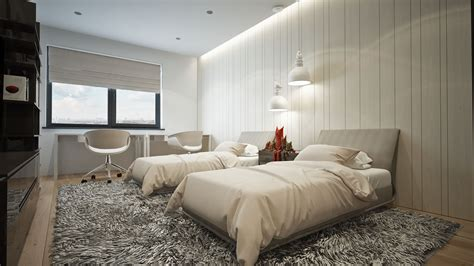 Green Guest Room Design Interior Design Clipgoo