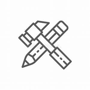 Spanner  Screwdriver  Hammer  Tools Stock Illustration