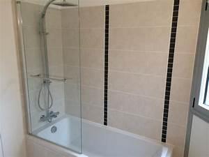 Prix Carrelage Salle De Bain : pose carrelage salle de bain pas cher ~ Melissatoandfro.com Idées de Décoration