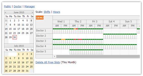 tutorials daypilot  aspnet webforms calendar scheduler  gantt chart components