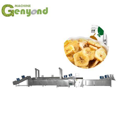 china automatic plantain chips making machine china plantian chips processing  banana